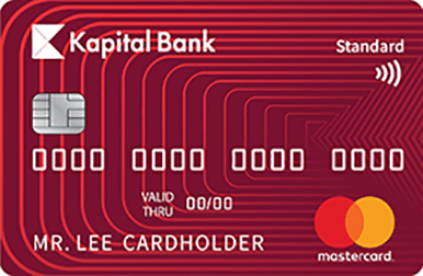 The most popular payment card.