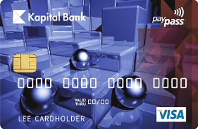 Used for shopping and cash withdrawals all over the world and the name of the company is displayed on the cards.