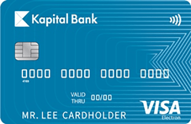 The simplest and most convenient card for daily use of your personal funds.