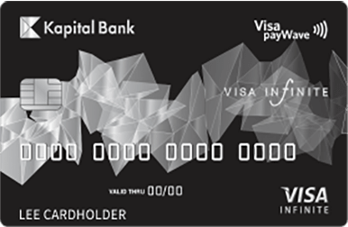 Visa Infinite is a VIP card combining all of a Visa card features.