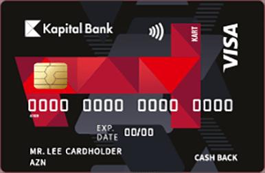 Kartla edilən nağdsız ödənişlərə minimum 1.5%-dən başlayan keşbek, faizsiz və komissiyasız taksit imkanı verən unikal bir kartdır.