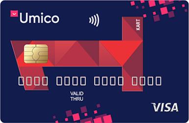 Это дебетовая карта от Kapital Bank и Umico, созданная для ежедневного совершения выгодных покупок с кэшбэком.