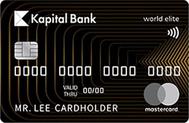 Mastercard World Elite, həyatın ən yaddaqalan anlarını yaşamağa kömək edə biləcək xüsusi bir xidmətdir