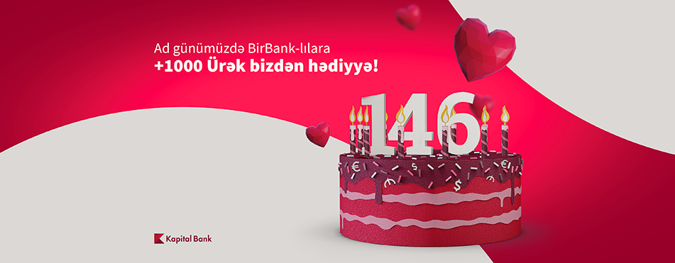 Kapital Bank — 146 years with you!