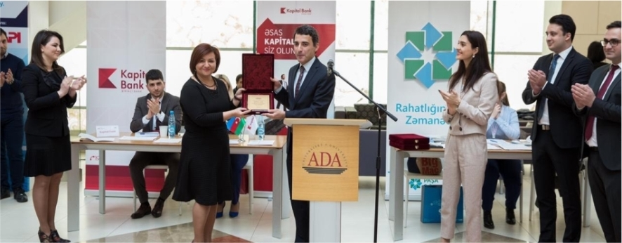 Kapital Bank supports career days held by ADA University