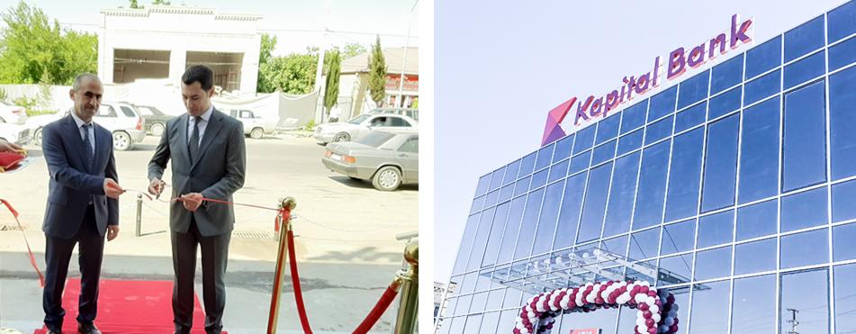 Kapital Bank yenilənən Ağdam filialını istifadəyə verdi