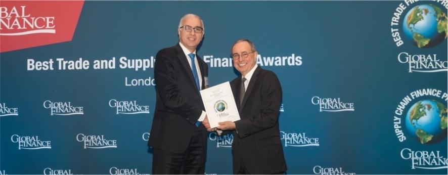 Kapital Bank Global Finance tərəfindən mükafatlandırılıb