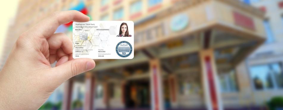 Студенты Бакинского Государственного Университета получили «Студенческие смарт-карты»