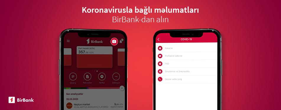 Пользователи BirBank пожертвовали более 30 000 манатов на борьбу с коронавирусом