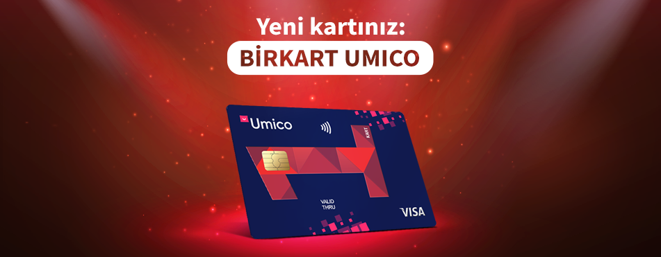 Two brands in one card – BirKart Umico!