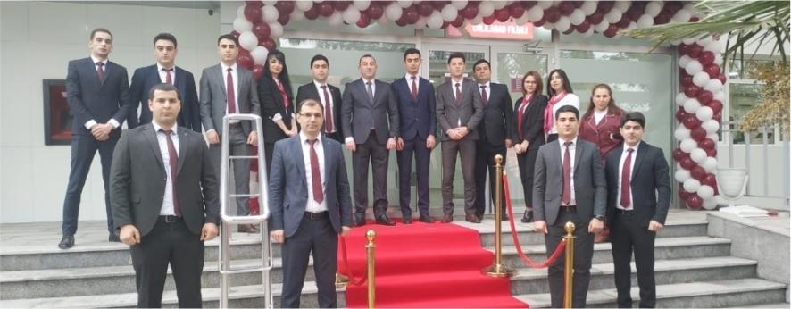 Kapital Bank yenilənən Cəlilabad filialını istifadəyə verdi