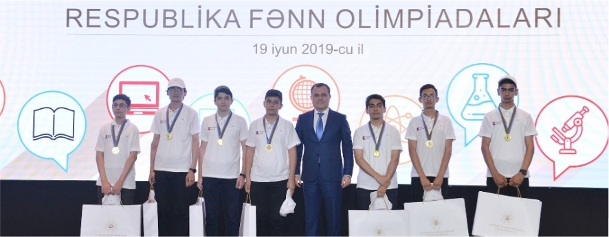 Winners of School Olympiad supported by Kapital Bank were awarded