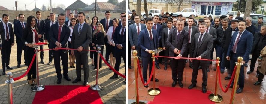 Kapital Bank yenilənən Sabirabad və Masallı filiallarını istifadəyə verdi