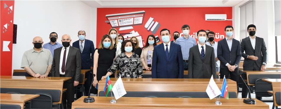 """ADNSU-da """"Kapital Bank otağı"""" təqdim edildi"""