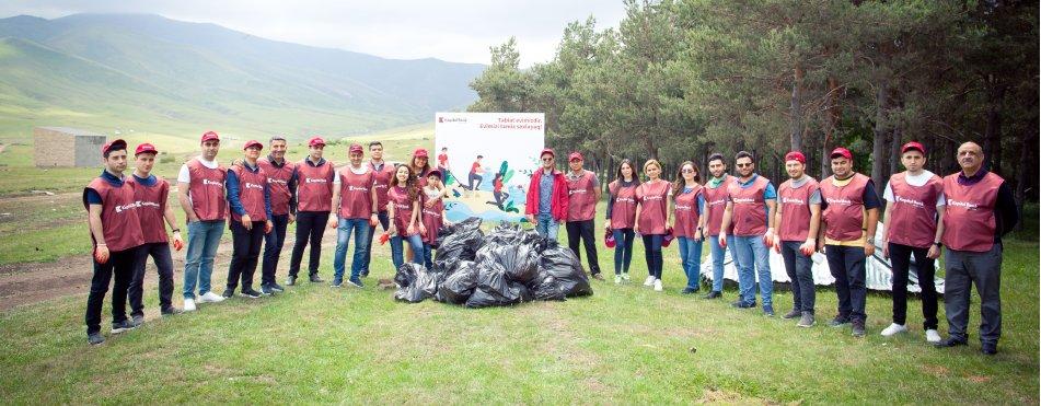 Kapital Bank held clean-up campaign in Khoshbulag