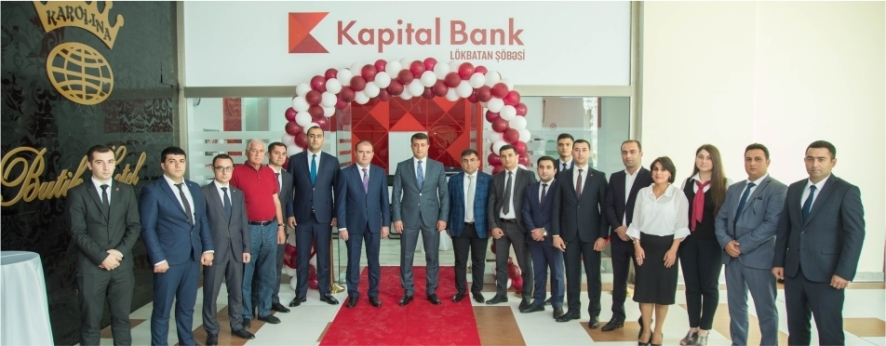 Kapital Bank fərqli konsepsiyalı Lökbatan şöbəsini təqdim etdi