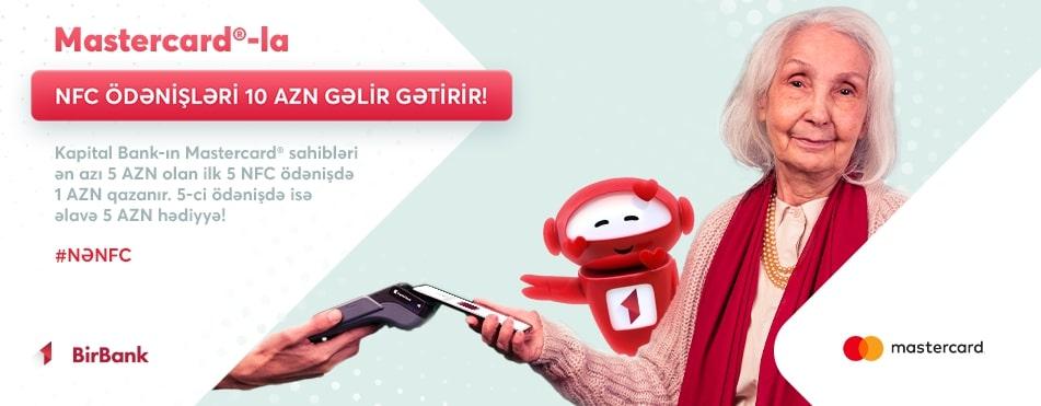 Держатели карт Mastercard и Maestro от Kapital Bank получат дополнительный кэшбэк!