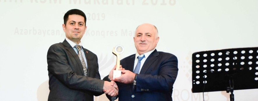 Kapital Bank удостоен премии «Milli KSM»