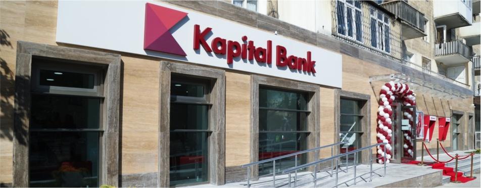 Kapital Bank yenilənən Nərimanov filialını istifadəyə verdi