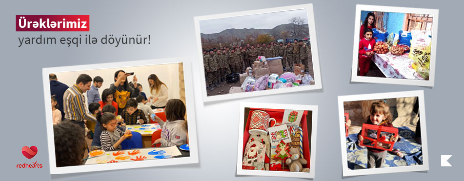 "Volunteers of ""Red Hearts"" visited children of martyrs during holidays"