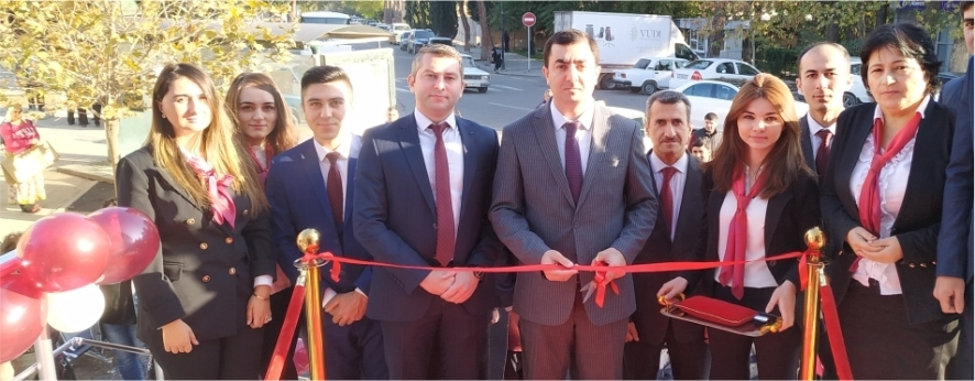 Kapital Bank has opened the renovated branch in Shamkir