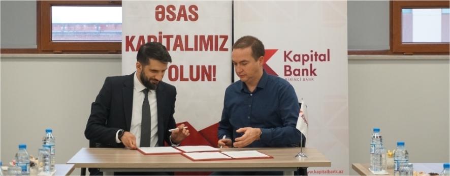 Kapital Bank STEP IT Academy ilə memorandum imzalayıb