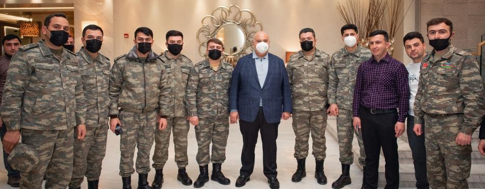 Руководство Kapital Bank провело встречу с участниками войны