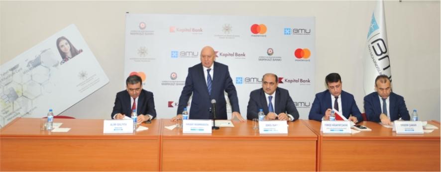 "Kapital Bank presents ""Student smart card"" to the next university"