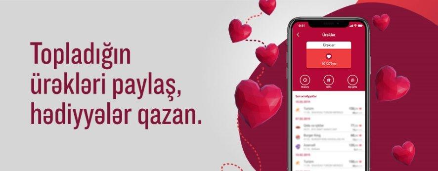 """""""Ürəklər""""ini paylaş, hədiyyə qazan!"""