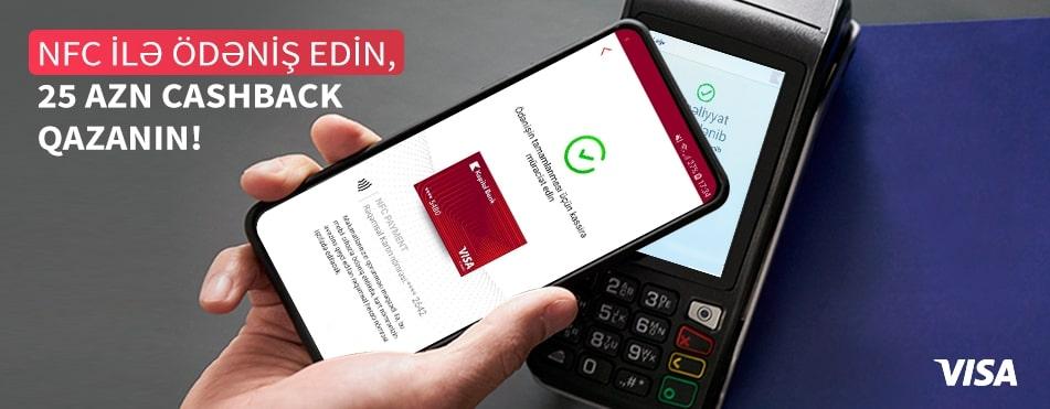 BirBank ilə NFC ödənişlər et, 25 manat keşbek qazan!