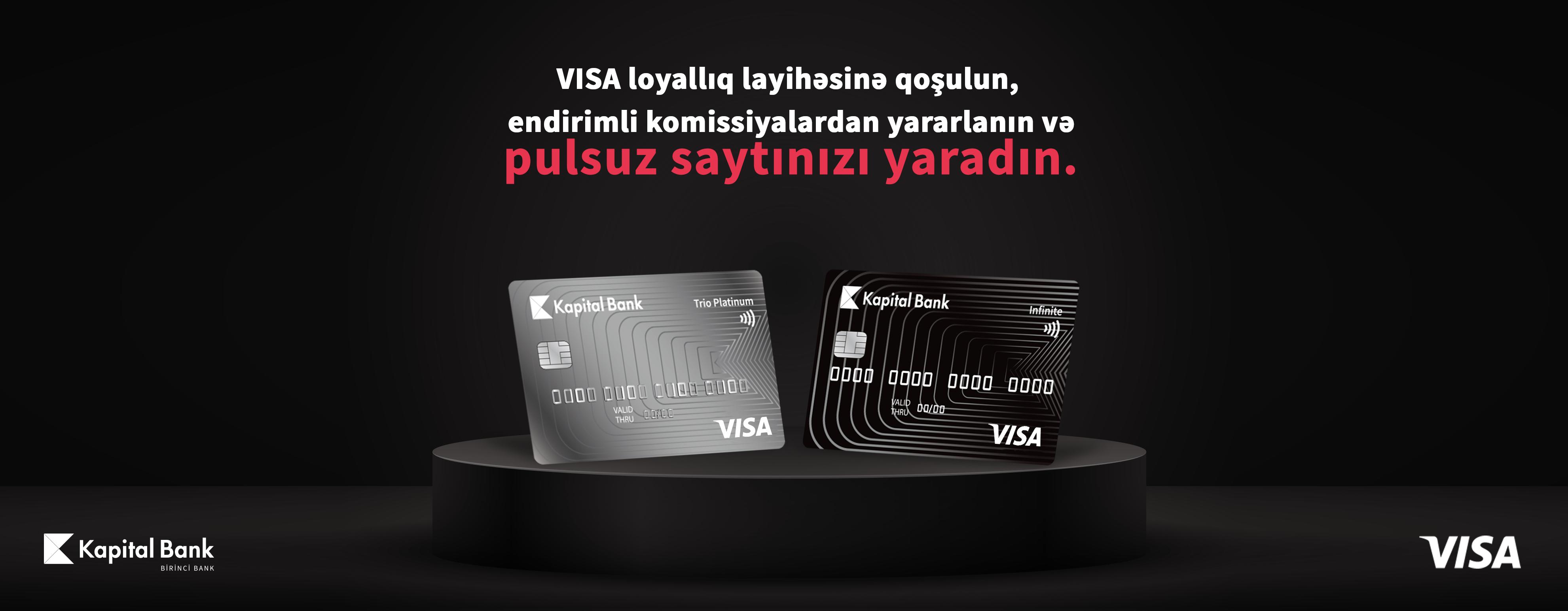 Kapital Bank Visa kartlarına endirim verən partnyorlara əlverişli imkanlar təqdim edir