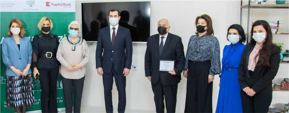 При поддержке Kapital Bank открылся очередной центр «Yaşa»