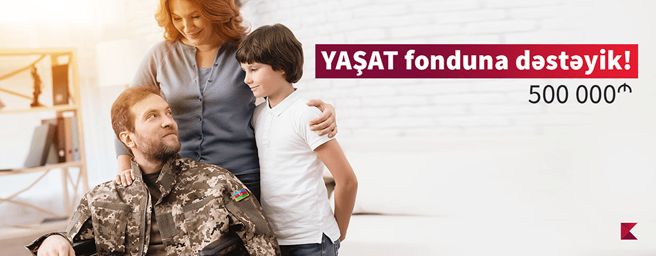 """Kapital Bank donates to """"YASHAT"""" Foundation"""